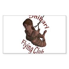 Shibari Flying Club Decal