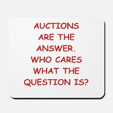 auction Mousepad