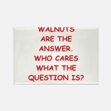 walnuts Rectangle Magnet
