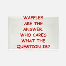 waffle Rectangle Magnet