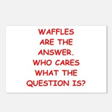 waffle Postcards (Package of 8)