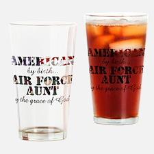 AF Aunt by grace of God Drinking Glass
