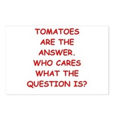 tomato Postcards (Package of 8)
