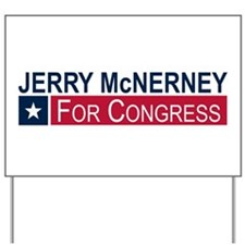 Elect Jerry McNerney Yard Sign