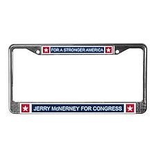 Elect Jerry McNerney License Plate Frame