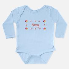Amy 1 Long Sleeve Infant Bodysuit