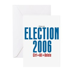 Election 2006 Reboot Greeting Cards (Pk of 10)
