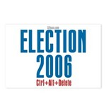 Election 2006 Reboot Postcards (Package of 8)