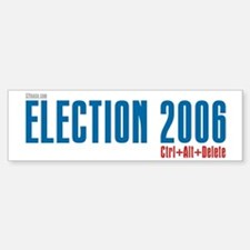 Election 2006 Reboot Bumper Bumper Bumper Sticker