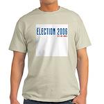 Election 2006 Reboot Ash Grey T-Shirt