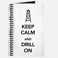 Keep Calm and Drill On Journal