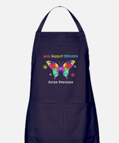 Autism Butterfly Apron (dark)