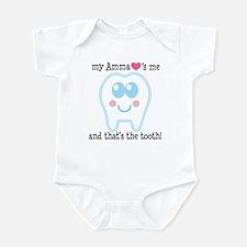 Amma Loves Me Infant Bodysuit