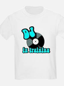 DJ in training Kids T-Shirt