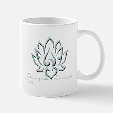 Buddha Lotus Flower Peace quote Mug