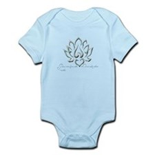 Buddha Lotus Flower Peace quote Body Suit