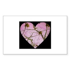 pink camo heart Decal