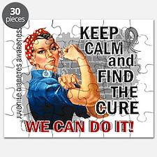 Rosie Keep Calm J Diabetes Puzzle