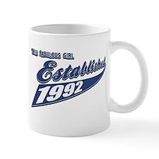 1992 birthday designs Mug