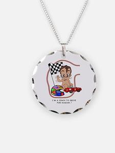 EGGBERT Brunet Car Driver Necklace
