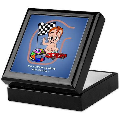 EGGBERT Redhead Car Driver Keepsake Box