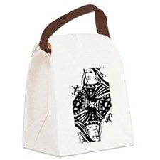 Queen Black.png Canvas Lunch Bag