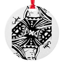 Queen Black.png Ornament