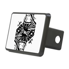 Queen Black.png Hitch Cover