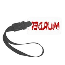 Redrum.png Luggage Tag
