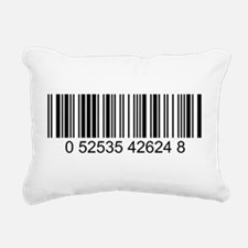 Barcode.png Rectangular Canvas Pillow