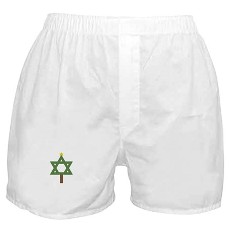 Christm()ukkah Tree Boxer Shorts