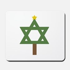 Christm()ukkah Tree Mousepad