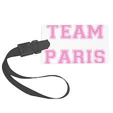 Paris Lt Pink trans.png Luggage Tag