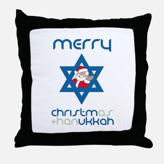 Christ()mukkah Throw Pillow