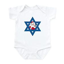 Christm()ukkah Infant Bodysuit