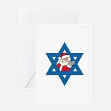 Christm()ukkah Greeting Cards (Pk of 10)