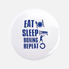 "Eat sleep Boxing 3.5"" Button"