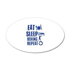 Eat sleep Boxing Wall Decal