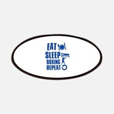 Eat sleep Boxing Patches