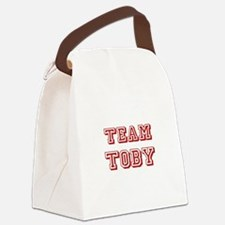 Team Toby red.png Canvas Lunch Bag