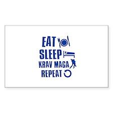 Eat sleep Krav Maga Decal