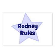 Rodney Rules Postcards (Package of 8)