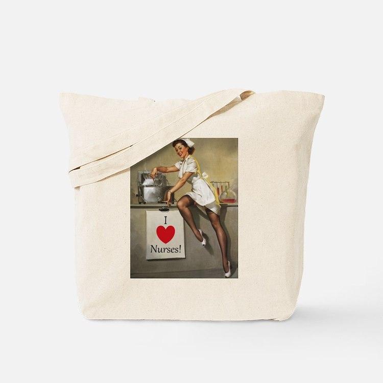 Nifty Nurse Tote Bag