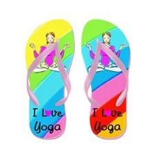 PRAY YOGA Flip Flops