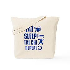 Eat sleep Tai Chi Tote Bag