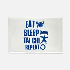 Eat sleep Tai Chi Rectangle Magnet (10 pack)