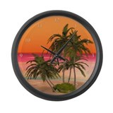 Beach clocks Wall Clocks