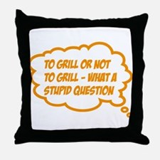 grill Throw Pillow