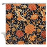 Morris shower curtains Shower Curtains