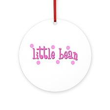 Little Bean-pink Ornament (Round)